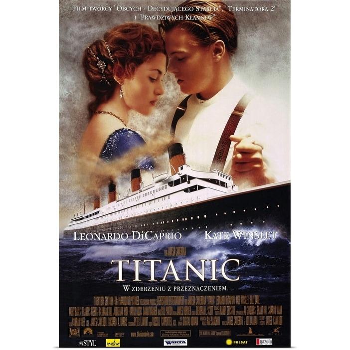Shop Black Friday Deals On Titanic 1997 Polish Version Poster Print Overstock 24130318