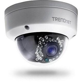 Trendnet Indoor/Outdoor 1.3 Megapixel Hd Poe Ir Dome Style Network Camera, Digital Wdr, 720P, Ip66 Rated Housing, 82Ft.