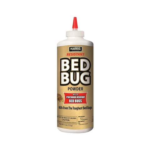 Harris GOLDBB-P4 Bed Bug Killer Powder, 4 oz