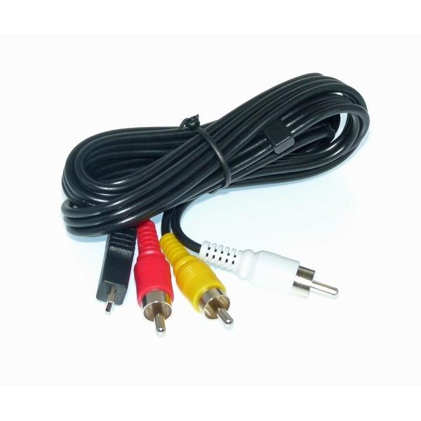 OEM Samsung AV Cable - CBF Cable Originally Shipped With: SMXF50BN, SMX-F50BN, HMXQF30BN, HMX-QF30BN