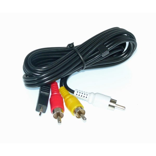 OEM Samsung Audio Video AV - CBF Cable - NOT A Generic - Originally Shipped With: HMXT10WN, HMX-T10WN, HMXQ20TN