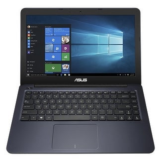 "Manufacturer Refurbished - ASUS E402SA-DB02-BL 14.0"" Laptop Celeron N3060 1.6GHz 4GB DDR3 32GB eMMC Win10"