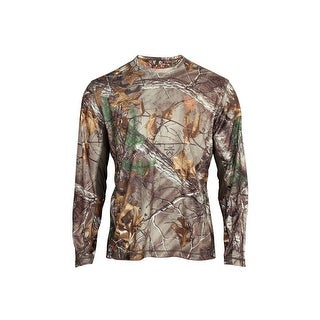 Rocky Outdoor Shirt Mens Long Sleeve Wick Realtree Xtra
