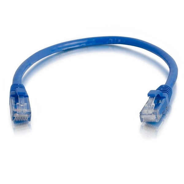 C2g 15188 5Ft Cat5e Snagless Unshielded Utp Ethernet Network Patch Cable - Blue