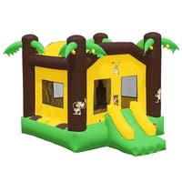 Inflatable HQ Commercial Grade Jungle Bounce House 100% PVC with Blower