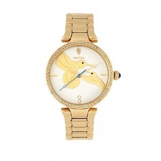 Bertha Nora Bracelet Watch - White/Gold