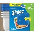 Ziploc 4 Pack Freezer Container - Thumbnail 0