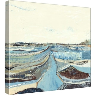 """PTM Images 9-97862  PTM Canvas Collection 12"""" x 12"""" - """"Topographs 4"""" Giclee Rural Art Print on Canvas"""