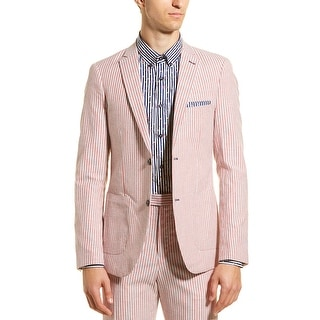 Link to Paisley & Gray Dover Slim Fit Linen-Blend Sport Coat Similar Items in Sportcoats & Blazers