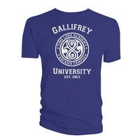 Doctor Who Classic Mens T-Shirt Gallifrey University