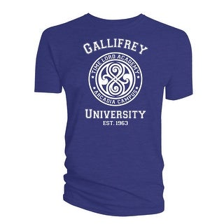 Doctor Who Classic Mens T-Shirt Gallifrey University