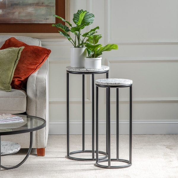 Katie Set of Two Terrazzo Tables. Opens flyout.
