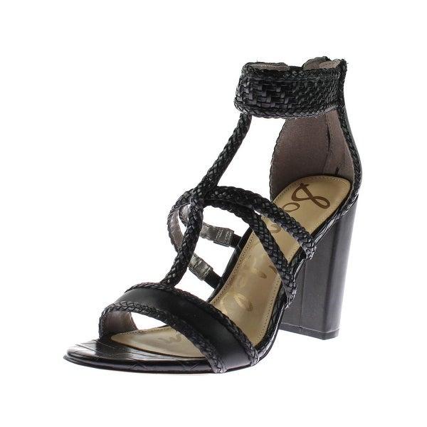 1ae34461587b9 Shop Sam Edelman Womens Yordana Dress Sandals Faux Leather Braided ...