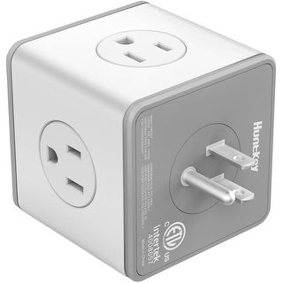 Link to Huntkey Cubic Surge Protector with 4 AC outlets & 3 USB Ports Similar Items in Cables & Connectors