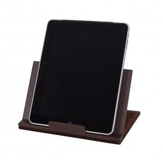 Dacasso A3450 Classic Leather Tablet Stand - Chocolate Brown