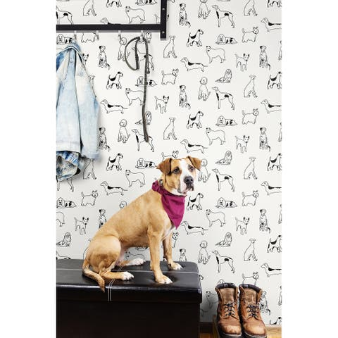 Stacy Garcia Home Best in Show Peel and Stick Wallpaper