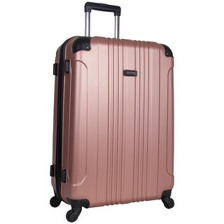 Link to Kenneth Cole Reaction 'Out of Bounds' 28-inch Lightweight Hardside 4-Wheel Spinner Checked Suitcase - Multiple Colors Similar Items in Wheeled & Checked Luggage