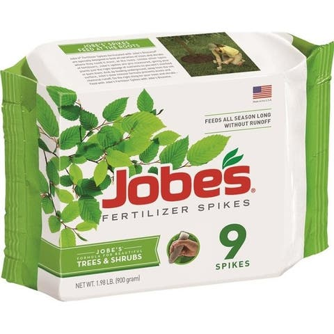 Jobe's 01310 Trees & Shrubs Fertilizer Spikes, 16-4-4