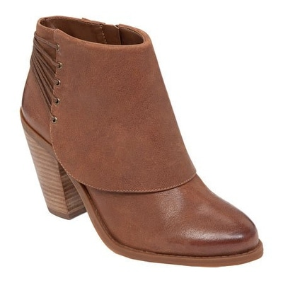 Jessica Simpson Womens Calvey Almond Toe Ankle Fashion Boots