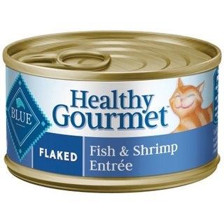 Blue Buffalo Healthy Gourmet Fish And Shrimp Flaked Cat Food,