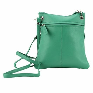 Women's Designer Multi Pocket Leather Crossbody Bag