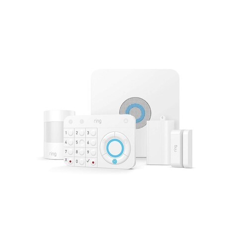 Ring Alarm  Home Security System with optional 24/7 Professional Monitoring No contracts 5 piece kit  Works with Alexa