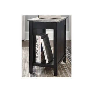 Ashley Furniture T217-881 Black Diamenton Chair Side End Table
