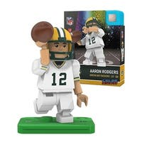 Green Bay Packers Aaron Rodgers Color Rush NFL Oyo Minifigure - multi