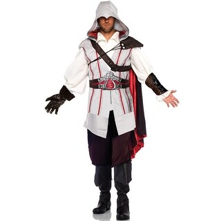 Leg Avenue Assassin's Creed Ezio Adult Costume - white/red