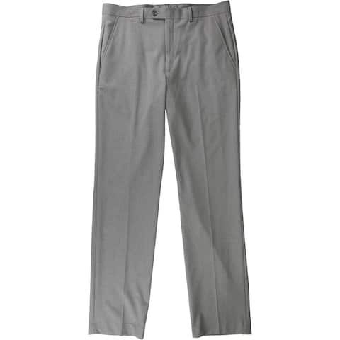 Alfani Mens Pinstripe Dress Pants Slacks, Grey, 34W x 34L - 34W x 34L