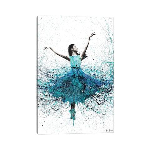 "iCanvas ""Coral Night Dancer"" by Ashvin Harrison Canvas Print"