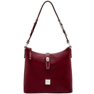 Dooney & Bourke Florentine Nuovo Hobo (Introduced by Dooney & Bourke at $348 in Dec 2016) - Bordeaux