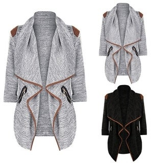 STYLEDOME Winter Coat Knitted Long Cardigan for Women