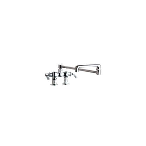 Shop Chicago Faucets 772 Dj18ab Deck Mounted Pot Filler Faucet With