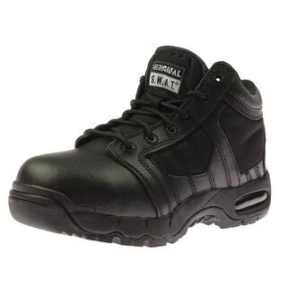 """Original S.W.A.T. Mens Air 5"""" Leather Composite Toe Tactical Boots - 4.5 medium (d)"""