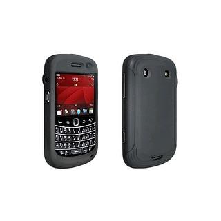 OEM Verizon Silicone Cover Gel Soft Case For Blackberry Bold 9930 (Black)