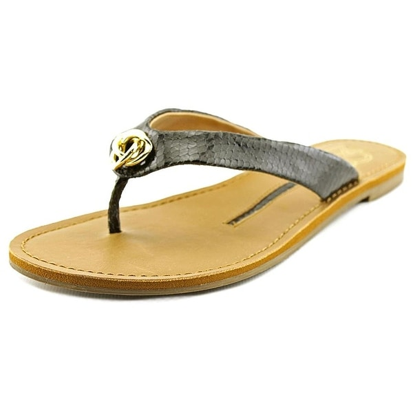 New Directions Womens Pepe Open Toe Casual Slide Sandals