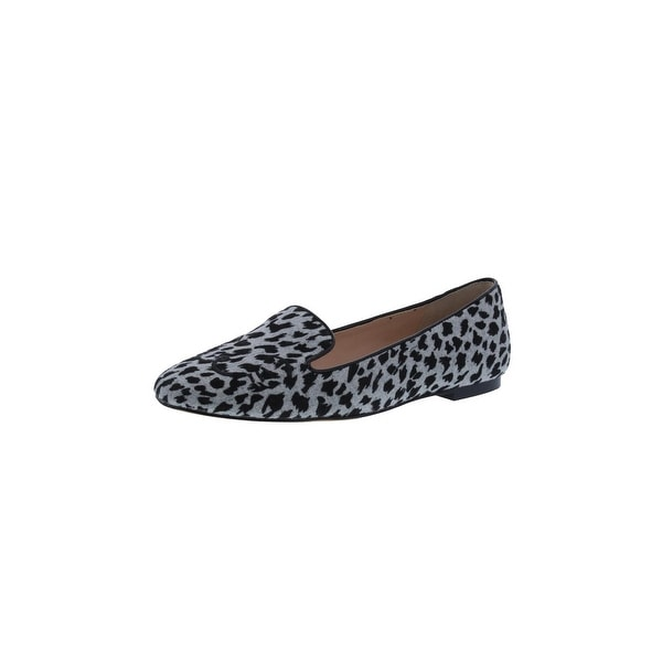 d77bfdea49f Karl Lagerfeld Paris Womens Halie 2 Fashion Loafers Embroidered Animal Print  - 5.5 medium (b