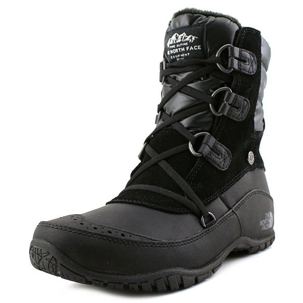 8d8009674 Shop The North Face Nuptse Purna Short Round Toe Leather Winter Boot ...