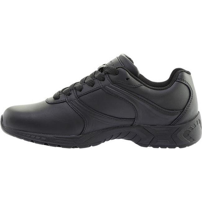 plain black leather shoes womens