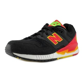 New Balance M530   Round Toe Leather  Sneakers