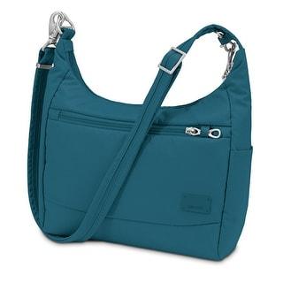Pacsafe Citysafe CS100-Teal Anti-Theft Travel Handbag