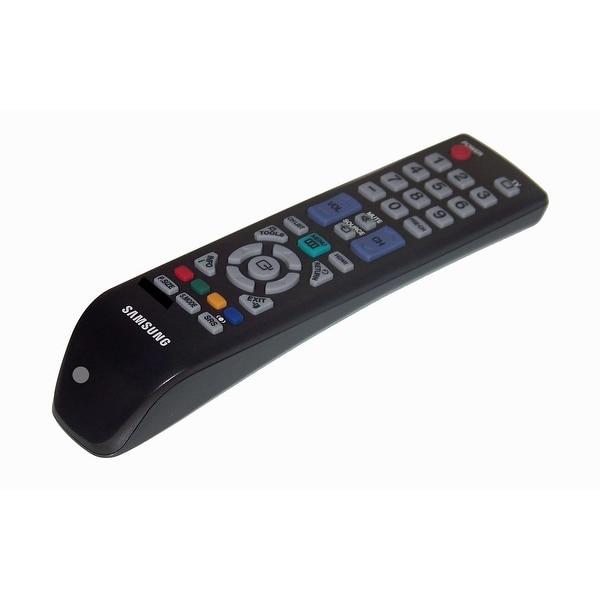 OEM Samsung Remote Control Originally Shipped With: LN22C350D1XZL, LA19C350D1XXP, LN32C350D1XZS, PL42C430A1XZP