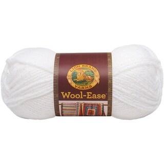 Wool-Ease Yarn -White Glitter - white glitter