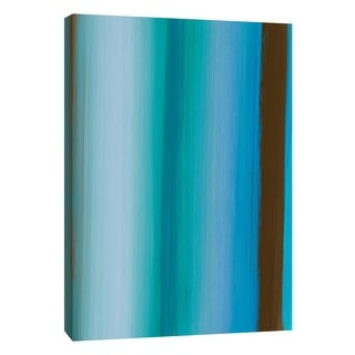 """PTM Images 9-108977  PTM Canvas Collection 10"""" x 8"""" - """"Stripes 2"""" Giclee Abstract Art Print on Canvas"""