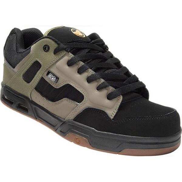 Shop DVS Men's Enduro Heir OliveBlack Leather Free
