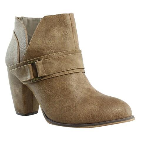 Michael Antonio Womens Mareo Wheat Fashion Boots Size 10