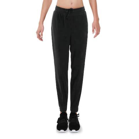 Puma Womens Downtown Sweatpants Fitness Workout - Puma Black