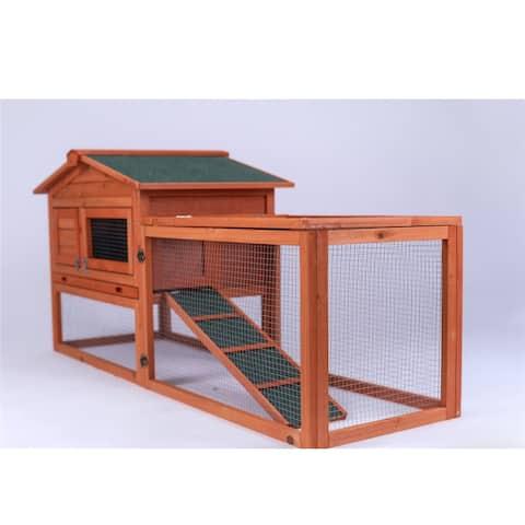Chicken Hen Coop Bunny Hutch Pet House