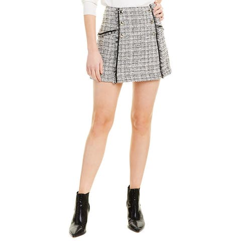 Veronica Beard Tweed Mini Skirt
